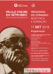 PAULO FREIRE EM SETEMBRO   ATO POLÍTICO-PEDAGÓGICO          19 DE SETEMBRO DE 2018