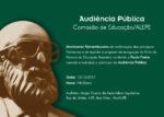 AUDIÊNCIA PÚBLICA COMISSÃO DE EDUCAÇÃO/ALEPE